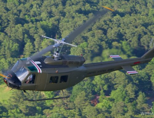 UH-1H and Her Crew Chief Reunited